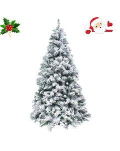 Albero di Natale Kettinson Innevato h 210cm