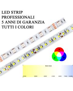 Striscia LED strip RGB Calda Naturale Fredda alta potenza e luminosità