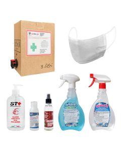 Gel e Spray Lavamani Igienizzante istantaneo Senza Acqua varia misure