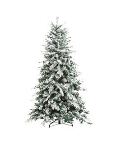 Albero di Natale Abete Innevato Alaska h 180cm 1366 rami Effetto realistico