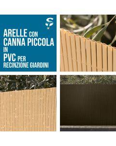 Canniccio Arella piccola PVC recinzioni giardino vari colori e misure STI