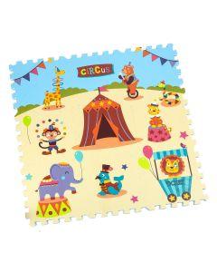 Tappeto Puzzle Eva Circo Tappetino Gioco bambini set 30x30 1cm 9pcs TOP