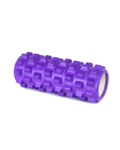 Yoga Foam Roller Rullo in EVA 33cm Benessere Fitness Viola