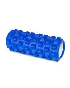 Yoga Foam Roller Rullo in EVA 33cm Benessere Fitness Blu