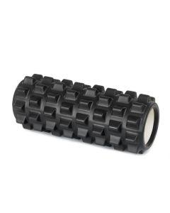 Yoga Foam Roller Rullo in EVA 33cm Benessere Fitness Nero