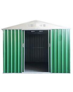 STI Garage Casetta Box in lamiera zincata 267x298x194  7.53mq Misura XL Casina