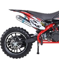 Minicross PBP Benzina raffreddata ad aria 49cc rinforzata racing