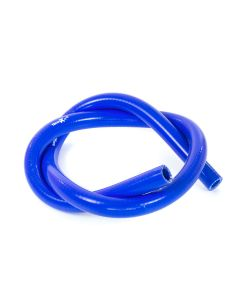Manicotto Radiatore Moto Tubo Blu in SILICONE Racing 100cm x 12mm telato