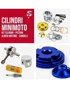 Cilindri Racing per Minimoto Minicross Pistone Alberi Candela