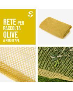 Rete Raccolta Olive Nido D'Ape 60gr/mq Varie Misure C/S Apertura Stock