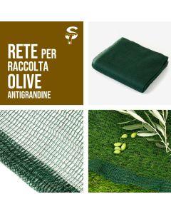 Rete Antigrandine Liguria Raccolta Olive Frutteti Varie Misure