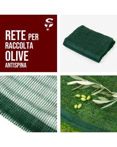 Rete Raccolta Olive Antispina 80-85gr/mq Varie Misure C/S apertura stock