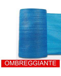 Rete Ombreggiante Ombra Telo Blu Frangisole Frangivista Recinzione H 400cm x50mt