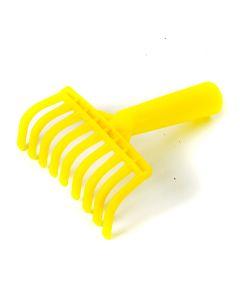 Rastrello pettine Manina in plastica per la raccolta delle olive con predisposizione per manico Pezzi 5