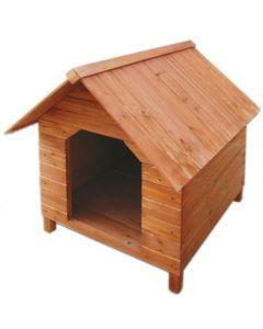 Cuccia per Cane in legno impregnato Grande 63x77x94 cm STI