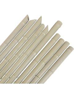 Canne Tutore PVC 10 pz riutilizzabili per sostegno ortaggi pomodori h.180 cm
