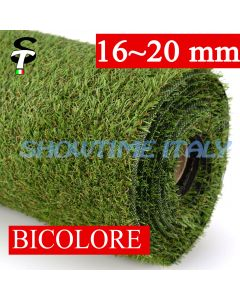 Prato sintetico 20mm calpestabile finta erba tappeto manto giardino esterno STI 2x5mt
