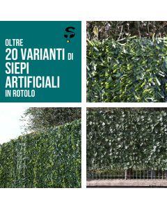 Siepe artificiale Ornamentale in Rotoli o Mattonelle oltre 20 tipologie Top
