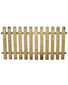 Staccionata per recinto steccato in legno impregnato 100x180 cm Europa