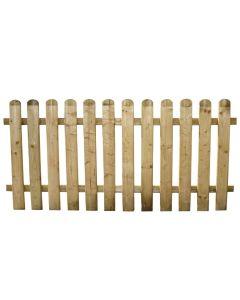 Staccionata per recinto steccato in legno impregnato 80x180 cm Europa