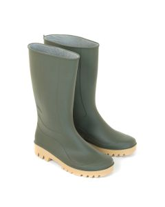 Stivale in pvc alto Verde tipo comfort lavoro pioggia giardino Varie Misure