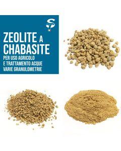Zeolite a Chabasite granulometria agricola corroborante piante