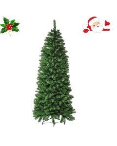 Albero di Natale Willis Slim h 210cm Verde