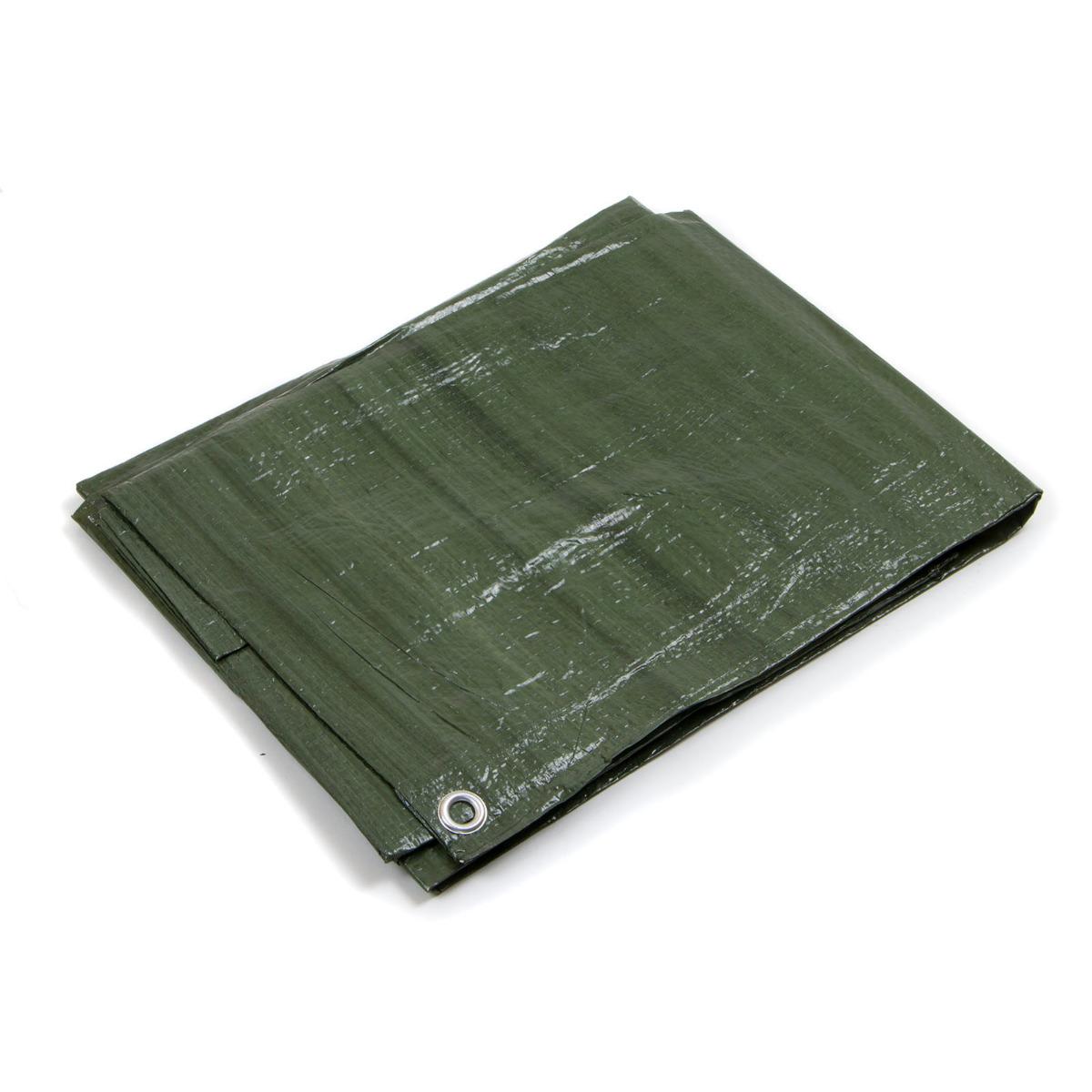 Telo occhiellato 85 gr verde blu impermeabile copritutto for Telo multiuso per auto